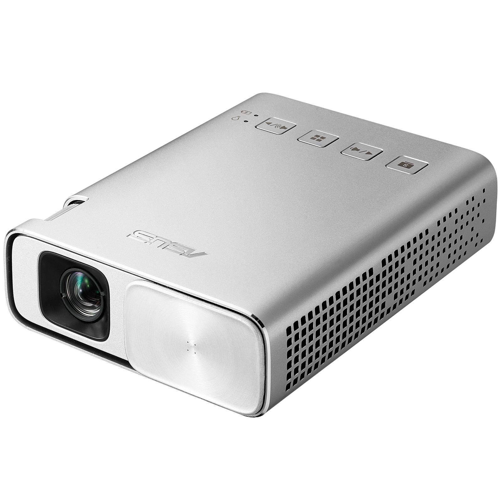 ASUS ZenBeam E1 Portable projector 150ANSI lumens DLP WVGA (854x480) Silver data projector