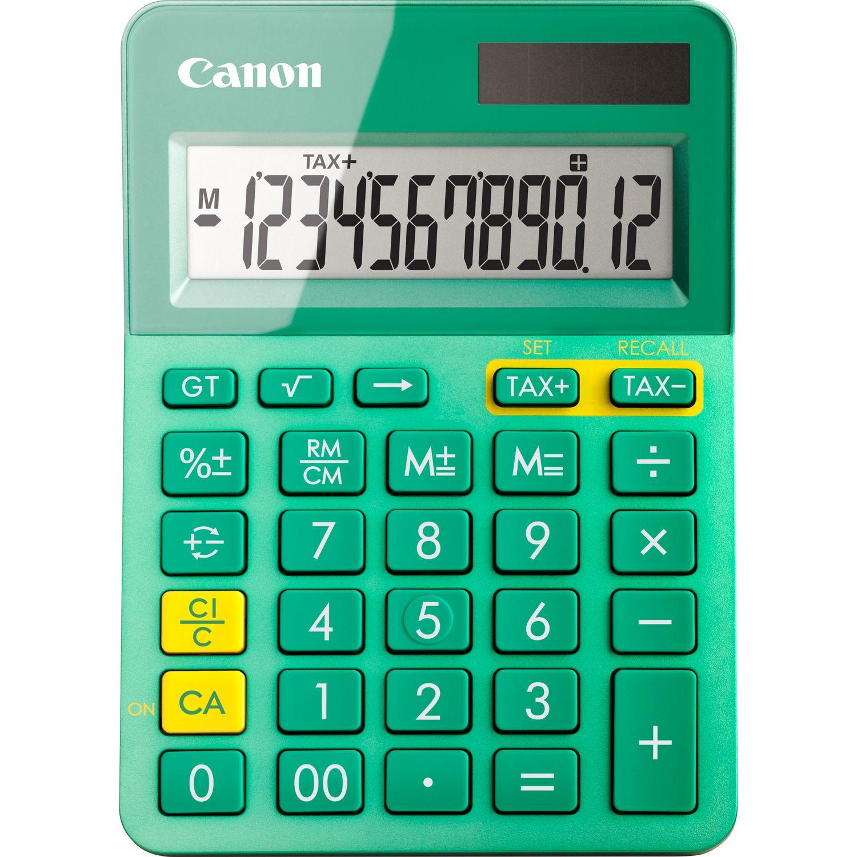 Canon LS-123K calculator Desktop Basisrekenmachine Groen