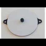 Maclocks NSWBMID detector mount/base cover plate Black