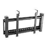 "Lindy 40880 flat panel wall mount 177.8 cm (70"") Black"