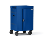 Bretford CUBE Mini Portable device management cart Blue