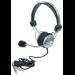 Manhattan 175517 headset Binaural Head-band Grey