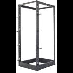 "Intellinet 19"" 4-Post Open Frame Rack, 26U, Max 360kg, Flatpack, Black"