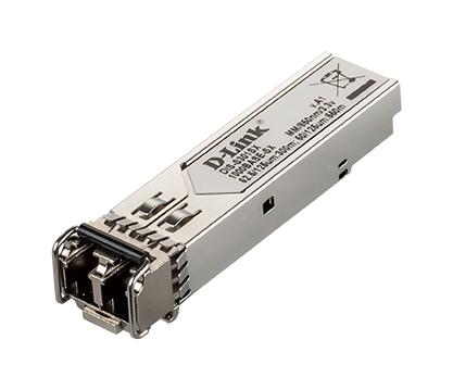 D-Link DIS‑S301SX red modulo transceptor Fibra óptica 1000 Mbit/s mini-GBIC