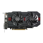 ASUS RX560-O2G Radeon RX 560 2GB GDDR5 graphics card