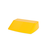 ADDIS 60L FLIPTOP BIN LID YELLOW