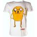 ADVENTURE TIME Jake Waving Extra Large T-Shirt, White (TS301120ADV-XL)