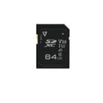 V7 64GB SDXC Card UHS-3 V30 A1
