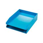 Avery ColorStak Letter Tray Blue Ref CS102 [Pack 2]