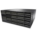 Cisco Catalyst WS-C3650-24TS-S Netzwerk Switch Managed L3 Gigabit Ethernet (10/100/1000) 1U Schwarz