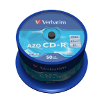 Verbatim CD-R AZO Crystal 700 MB 50 pc(s)