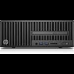 HP 280 G2 3.9GHz i3-7100 SFF Black PC