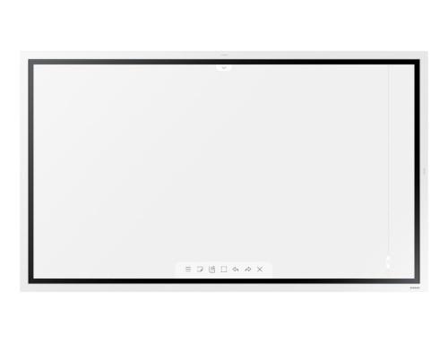 "Samsung WM55R 139.7 cm (55"") LED 4K Ultra HD Touchscreen Digital signage flat panel White"