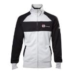 Capcom Resident Evil Men's Operative Track Jacket, Extra Large, Black/White (JK208000RES-XL)