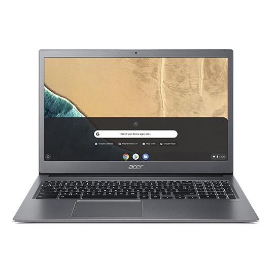 "Acer Chromebook CB715-1W-50LT Gris 39,6 cm (15.6"") 1920 x 1080 Pixeles 8ª generación de procesadores Intel® Core™ i5 8 GB DDR4-SDRAM 128 GB Flash Wi-Fi 5 (802.11ac) Chrome OS"