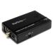 StarTech.com Adaptador Conversor de S-Video - Video Compuesto y por Componentes RCA a VGA
