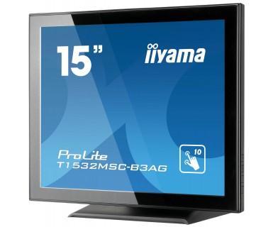 "iiyama ProLite T1532MSC-B3AG 15"" LED Black"