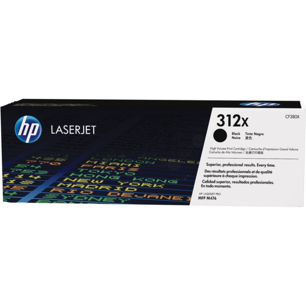 HP CF380X (312X) Toner black, 4.4K pages