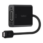 Belkin USB-C/VGA USB-C VGA Black cable interface/gender adapter