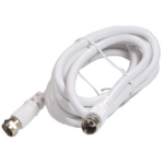 Steren 205-030WH 7.62m F-Type F-Type White coaxial cable