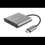 Trust Dalyx USB 3.2 Gen 1 (3.1 Gen 1) Type-C 5 Mbit/s Aluminium, Black