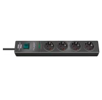 Brennenstuhl 1150610314 power extension 2 m 4 AC outlet(s) Anthracite