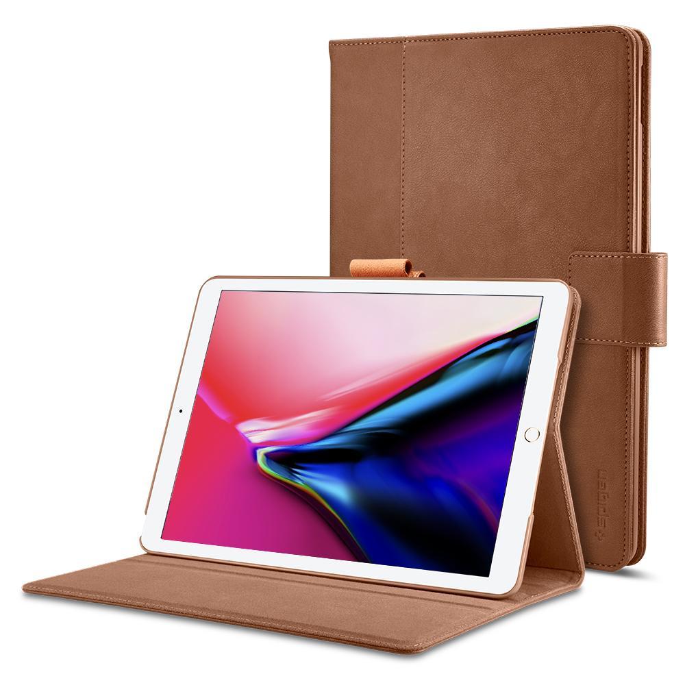"""Spigen 052CS22393 tabletbehuizing 26,7 cm (10.5"""") Folioblad Bruin"""