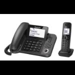 Panasonic KX-TGF320E telephone DECT telephone Caller ID Black
