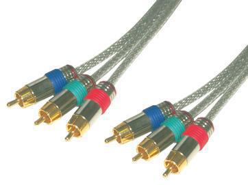 MCL MC706HQ/T-2M componente ( YPbPr) cable de vídeo RCA Gris