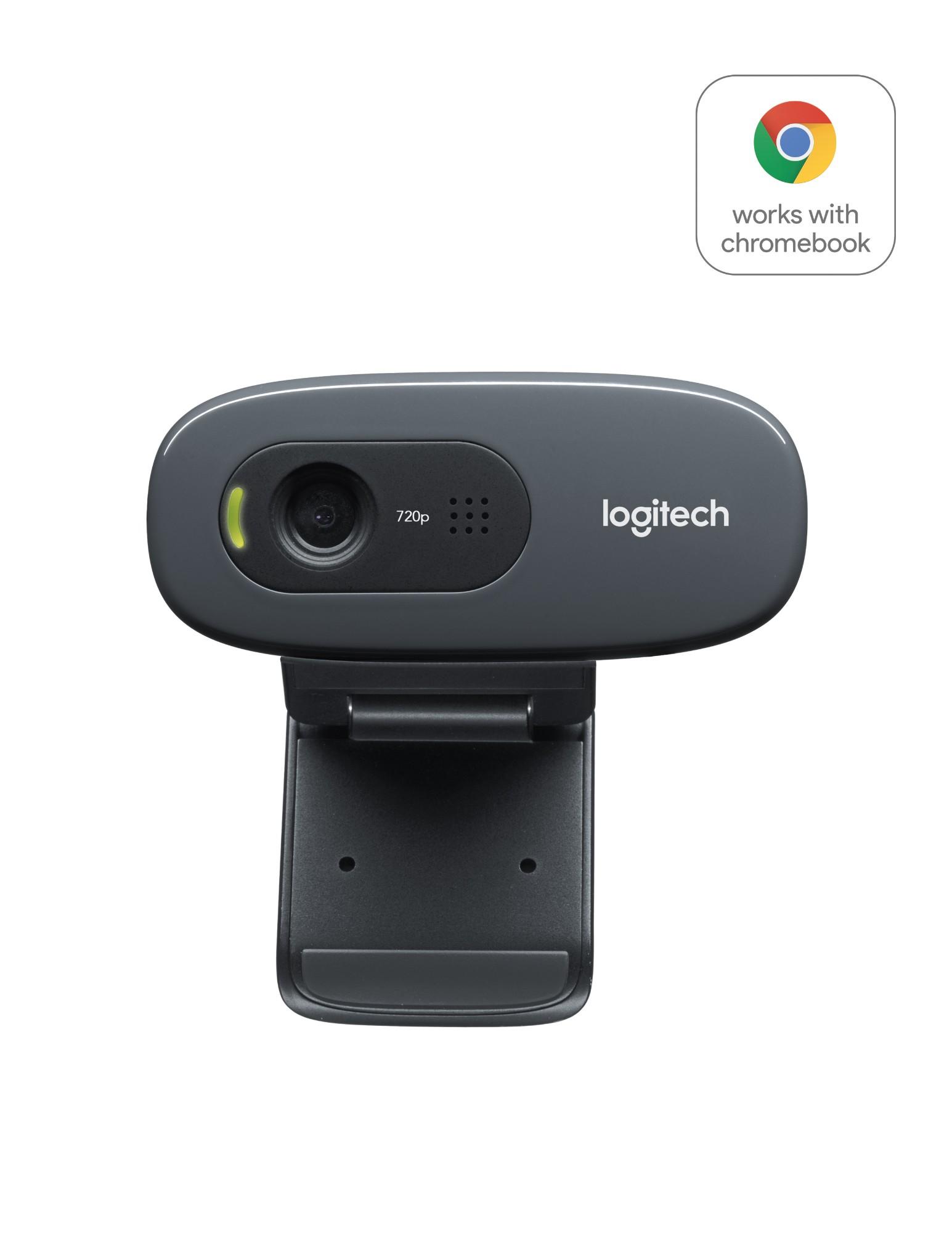 Logitech C270 HD webcam 3 MP 1280 x 720 pixels USB 2.0 Black