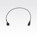 Zebra 25-124412-02R cable interface/gender adapter Black