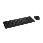Microsoft 900 RF Wireless QWERTY UK English Black keyboard