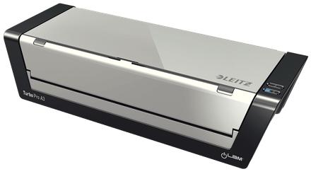 Leitz iLAM Touch Turbo Pro Hot laminator Black,Silver