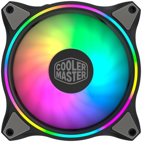Cooler Master MasterFan MF120 Halo 3in1 Computer case Fan 12 cm Black, Grey