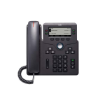 Cisco CP-6841-3PW-UK-K9= IP phone Black Wired handset 4 lines