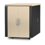 APC NetShelter CX 18U Freestanding rack Gray, Oak
