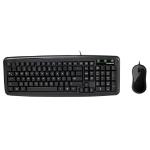 Gigabyte KM5300 USB QWERTY UK English Black keyboard