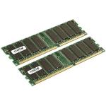 Crucial 2GB DDR UDIMM 2GB DDR 400MHz Memory Module