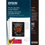 Epson Photo Quality Ink Jet Paper, DIN A4, 102g/m², 100 Vel