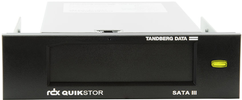 Tandberg RDX Internal drive/S-ATA III interface/3.5 INCH INCH bezel/No software