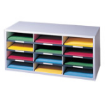 Fellowes Compartment Sorter literature rack