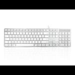 Accuratus KYBAC301-UMAC-FR keyboard USB AZERTY French White