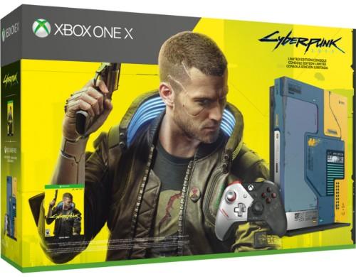 Microsoft Xbox One X 1TB Console – Cyberpunk 2077 Limited Edition Bundle 1000 GB Wi-Fi Multicolour