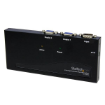 StarTech.com Duplicador Divisor Multiplicador de Vídeo VGA de 2 puertos 350MHz - Splitter 2 Salidas