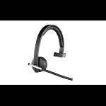 Logitech H820e RF inalámbrico Biauricular Diadema Negro auricular con micrófono
