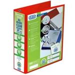 Elba 400008437 folder A4 Red