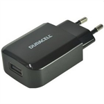 Duracell DRACUSB3-EU Indoor Black mobile device charger