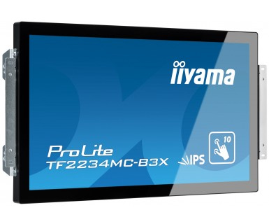 "iiyama ProLite TF2234MC 21.5"" 1920 x 1080pixels Multi-touch Multi-user Black touch screen monitor"