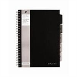 Pukka PROJECT BOOK A4 250SHT BLACK