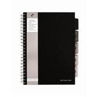 Pukka PROJECT BOOK A4 250SHT BLACK